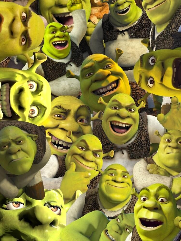Shrek Collage  by llier4