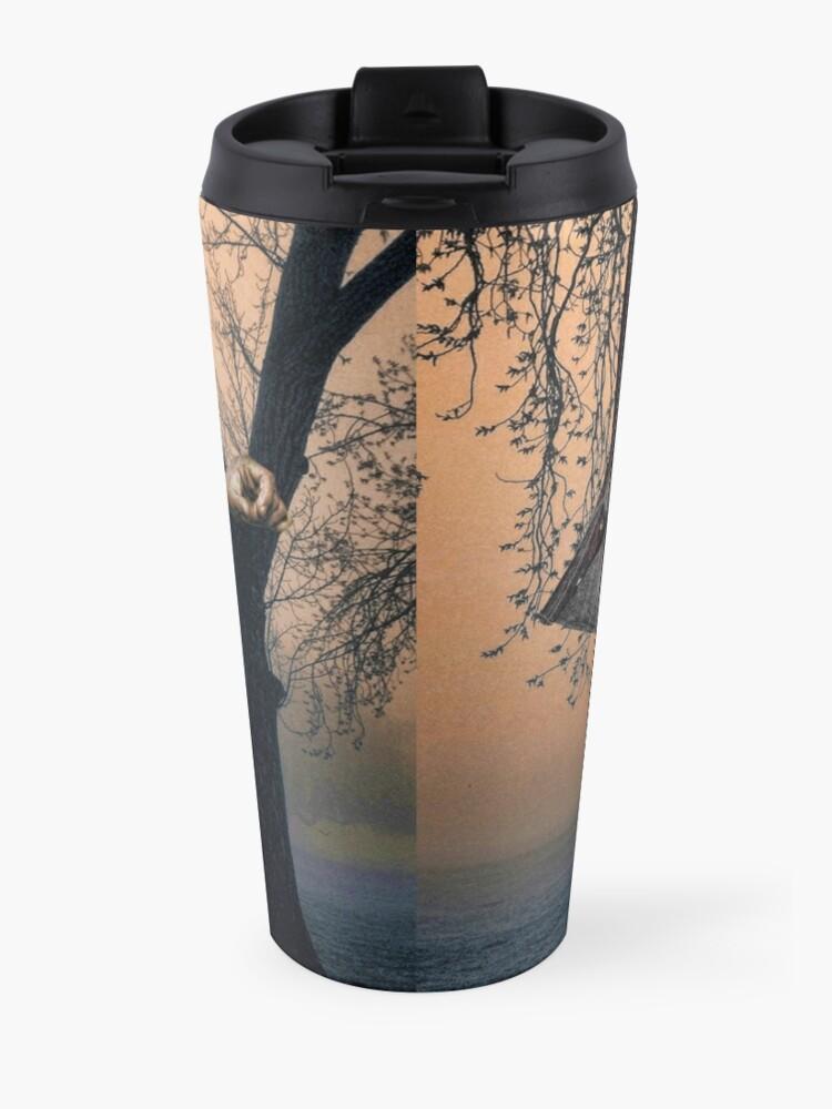 Alternate view of Slender Man Elvis Travel Mug