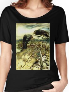 The Two Crows Women's Relaxed Fit T-Shirt