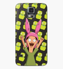 Louise Belcher Light Pattern Black Case/Skin for Samsung Galaxy