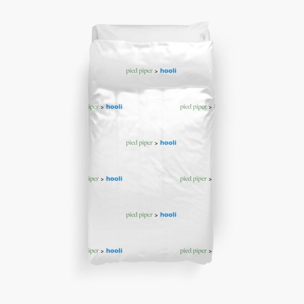 Pied Piper > Hooli (Silicon Valley) Duvet Cover