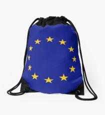 EU Flag Drawstring Bag