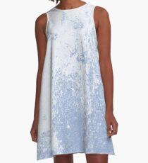 Earth Sweat Design (Serenity Color) A-Line Dress