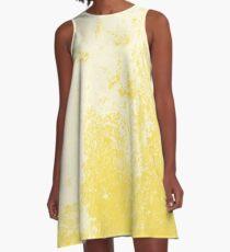 Earth Sweat Design (Buttercup Color) A-Line Dress