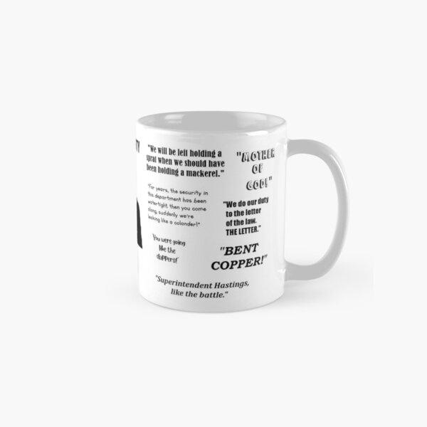 Line of Duty - Ted's Mug - Superintendent Ted Hastings Classic Mug