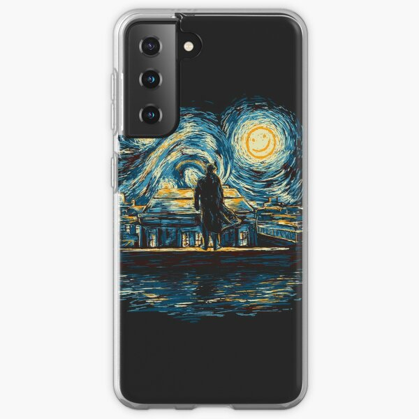 Starry Fall (Sherlock) Samsung Galaxy Soft Case