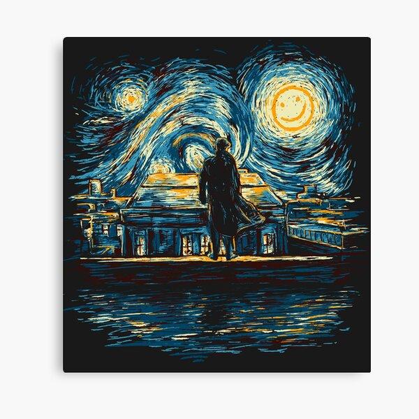 Starry Fall (Sherlock) Canvas Print