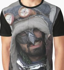 Steampunk Warrior Graphic T-Shirt