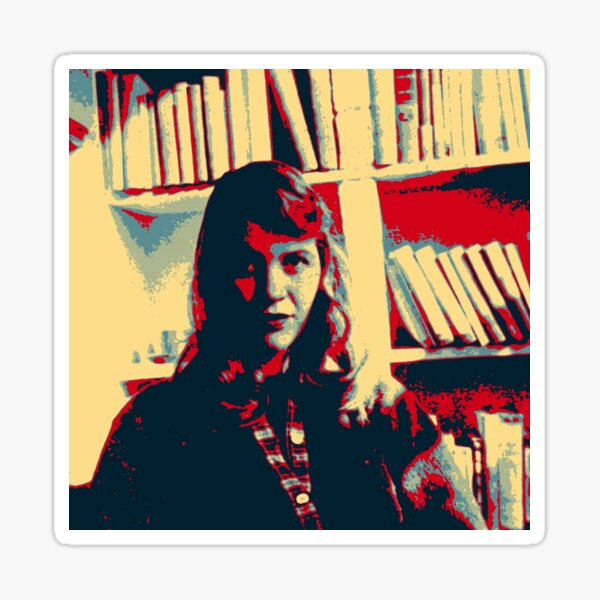 Sylvia Plath - #4 of #7 in a series Sticker