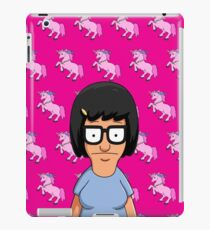 Tina Belcher Unicorn Pattern Hot Pink iPad Case/Skin