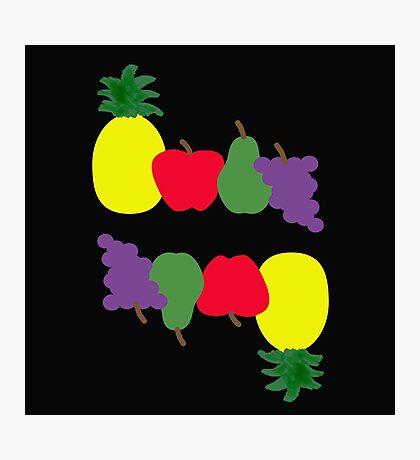 Tutti Frutti Flip Fun Photographic Print