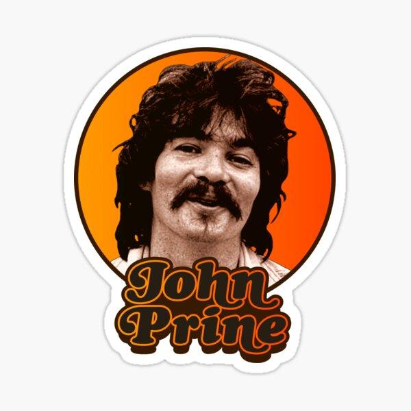 John Prine Retro Tribute Design  Sticker