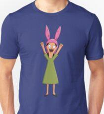 Louise Belcher Light Pattern Purple Unisex T-Shirt