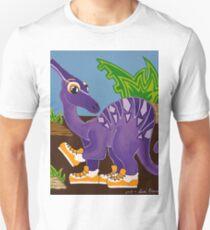 Purple Dinosaur Unisex T-Shirt