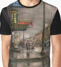City - Amsterdam NY -  Call 666 for Taxi 1941 Graphic T-Shirt