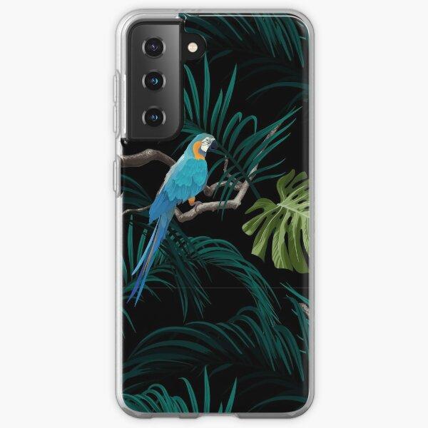 Dark tropical  design Samsung Galaxy Soft Case