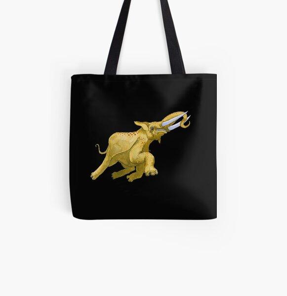Trevor, the Flying Elephant All Over Print Tote Bag