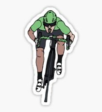 "Mark Cavendish  -  ""Le Maillot Vert"" Sticker"