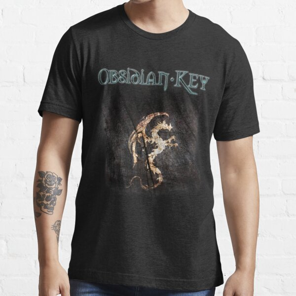 Obsidian Key - The Golden Dragon - Progressive Rock Metal Music - (Dark) Essential T-Shirt