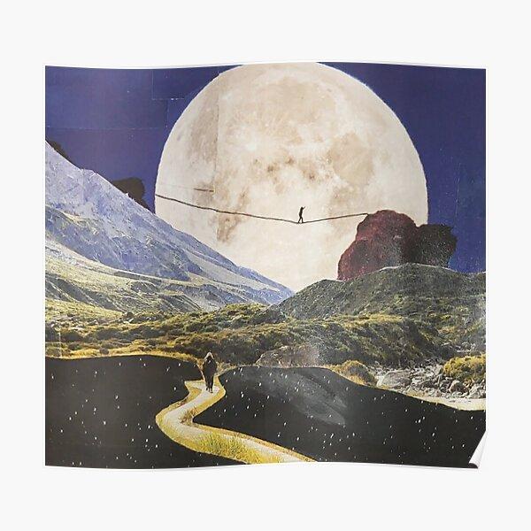 moon walk Poster