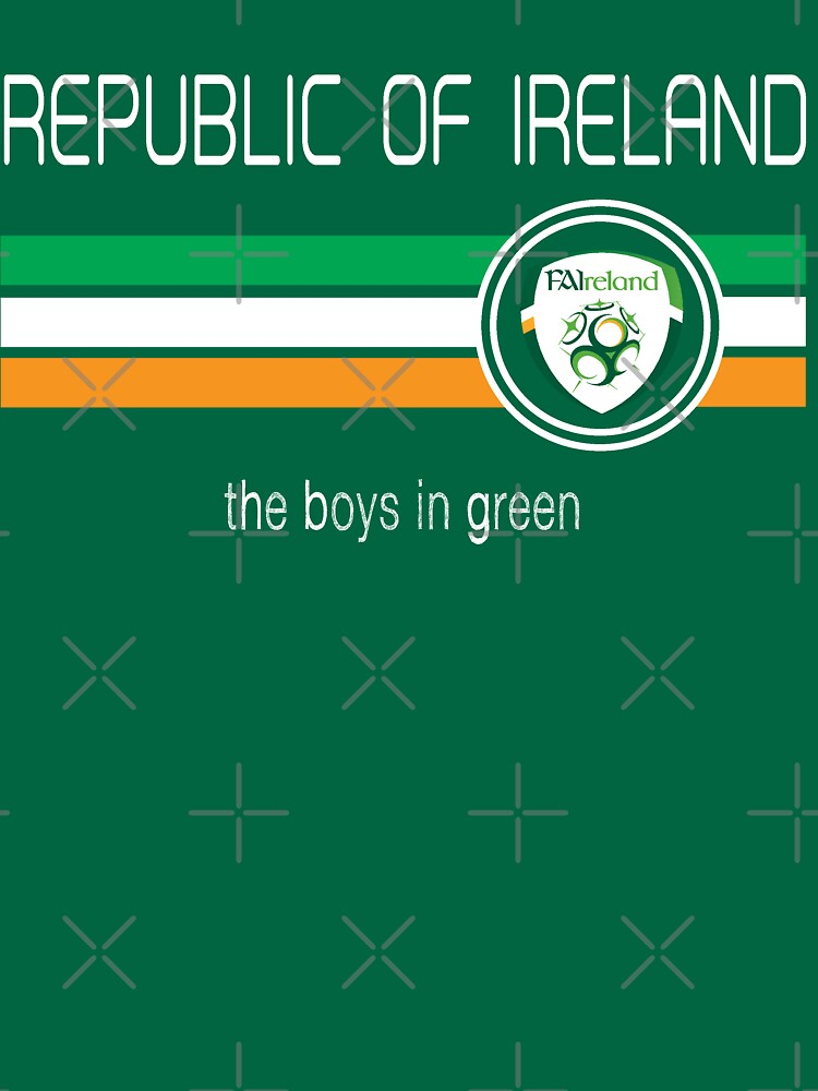 Euro 2016 Football - Republic of Ireland (Home Green) | Unisex T-Shirt