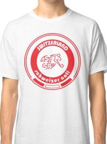 Euro 2016 Football - Team Switzerland Classic T-Shirt