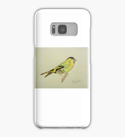 Siskin Drawing Samsung Galaxy Case/Skin