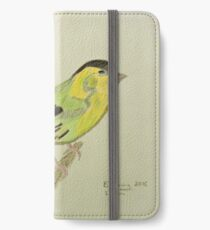 Siskin Drawing iPhone Wallet/Case/Skin