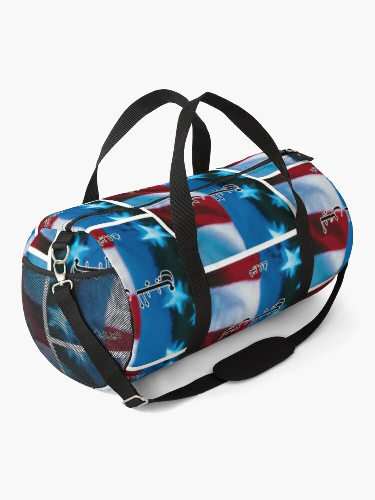 Alternate view of Not For Sale - Artwork Duffle Bag