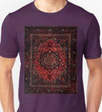 Persian carpet look in rose  Unisex T-Shirt