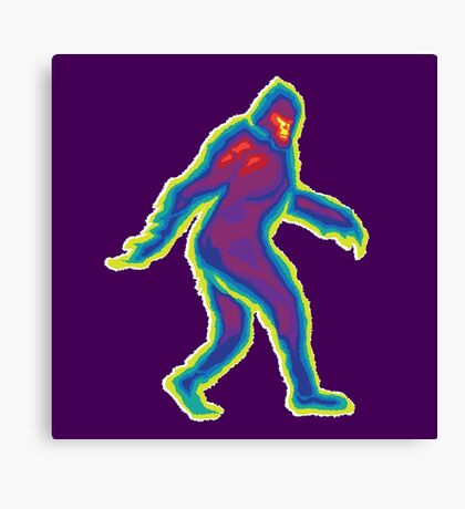 Heat Vision - Bigfoot Canvas Print