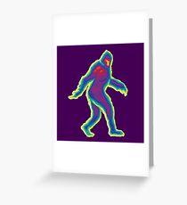 Heat Vision - Bigfoot Greeting Card