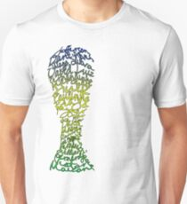 Brazilian World Cup Squad 2014 Unisex T-Shirt