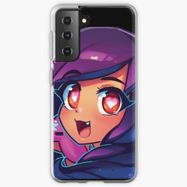 Aphmau with video game Samsung Galaxy Soft Case