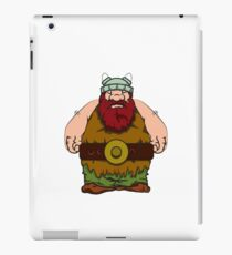 big wik - wikinger - viking olaf iPad Case/Skin