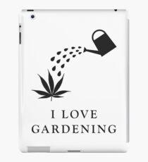 I love gardening iPad Case/Skin