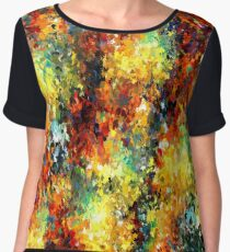 modern composition 02 by rafi talby Women's Chiffon Top