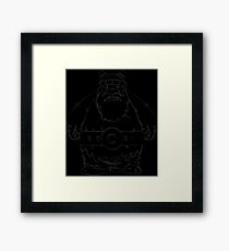Wikinger, viking, olaf, Framed Print