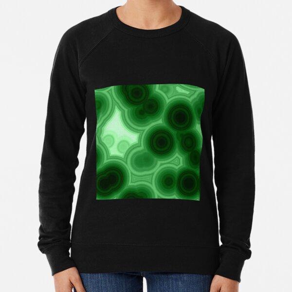 Malachite cut pattern  Lightweight Sweatshirt