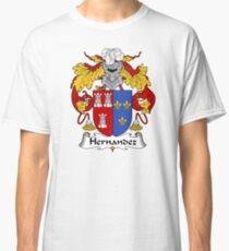 Camiseta clásica Hernandez Escudo de armas / Familia de Crest