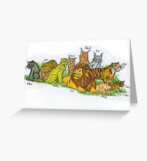 Find Your Pride! - Feline Family Greeting Card