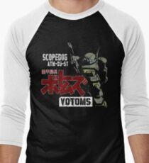SCOPEDOG ROBOT  Men's Baseball ¾ T-Shirt