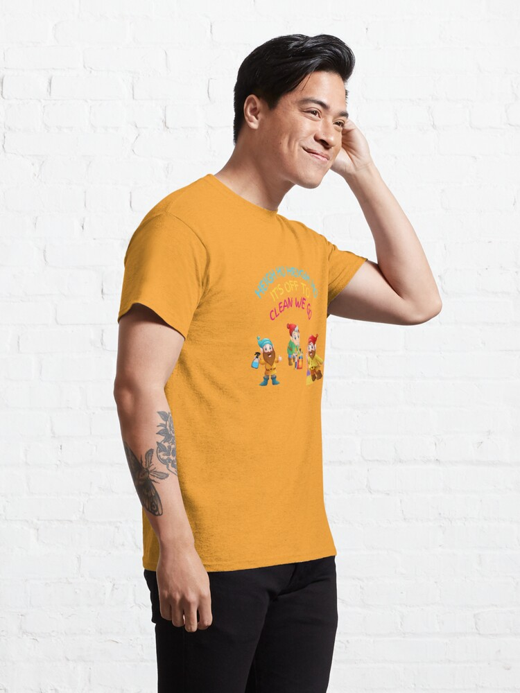 Alternate view of Off to Clean We Go Funny Cleaning Lady Housekeeper Cleaning Crew Gifts Classic T-Shirt
