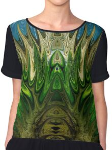 modern composition 11 by rafi talby Chiffon Top