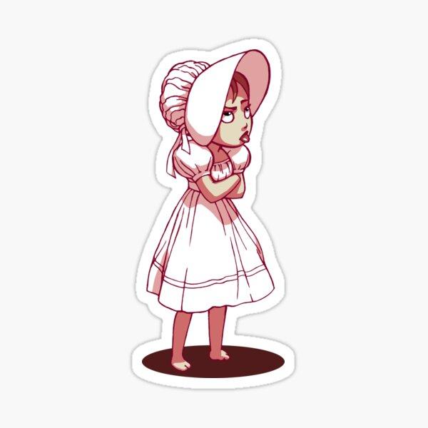 Barefoot Bonnet CHARLIE Sticker
