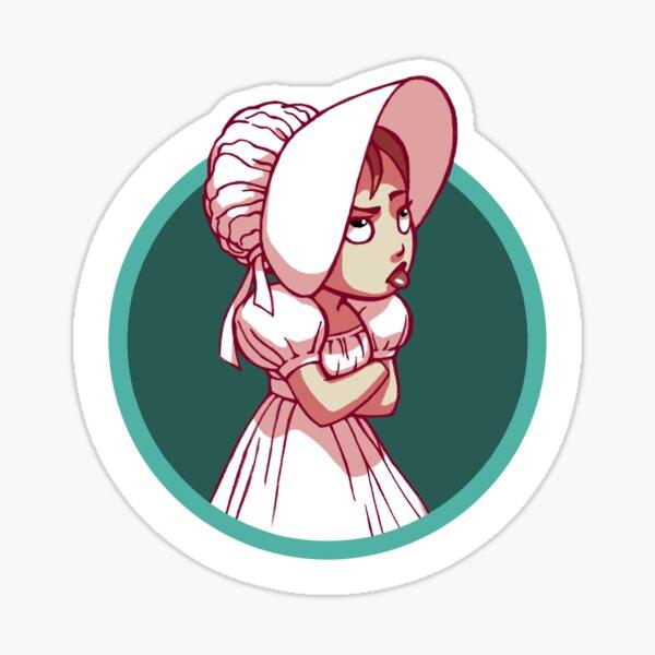 Barefoot Bonnet CHARLIE Icon Sticker