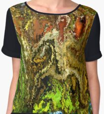 modern composition 20 by rafi talby Chiffon Top