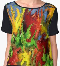 modern composition 23 by rafi talby Women's Chiffon Top