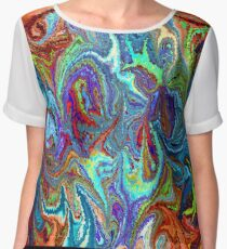 modern composition 24 by rafi talby Chiffon Top