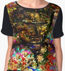 modern composition 25 by rafi talby Chiffon Top